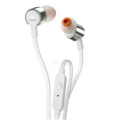 Kõrvaklapid JBL T210, hõbedased