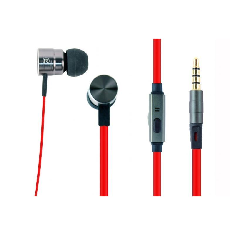 Kõrvaklapid Gembird MHS-EP-LHR, punane/must