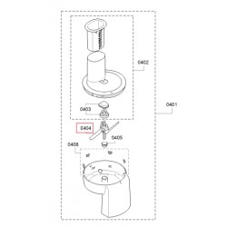 Bosch köögikombaini MUM58 riivi segaja labad 00630760