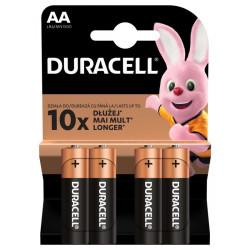 Patarei AA Duracell (4-pakk)