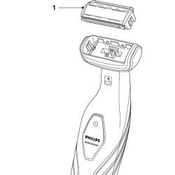 Philips trimmeri lõikepea
